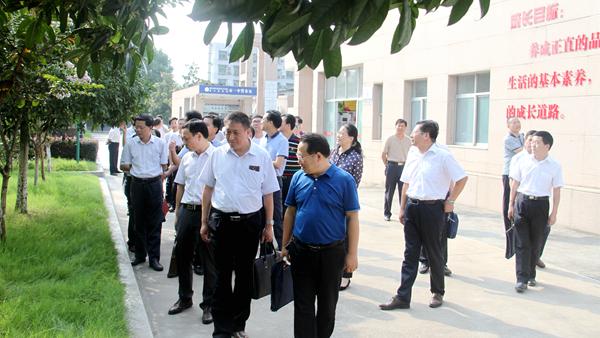 荆门市委党校第54期县干班学员到校考察